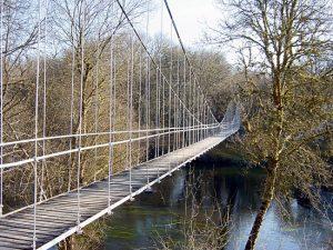 Puente colgante Outeiro de Rei
