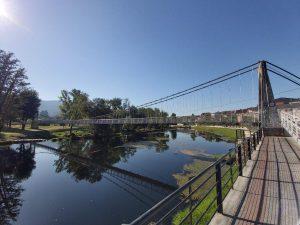 Puentes colgantes en Galicia