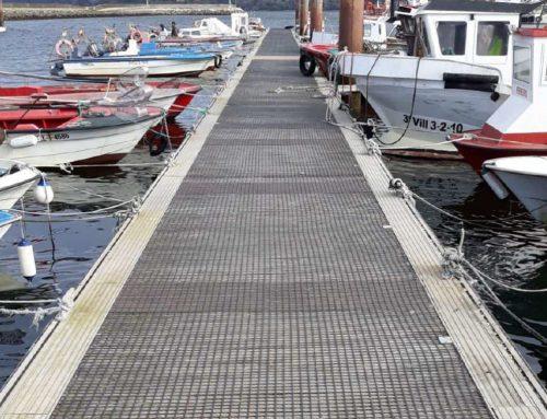 Mallas antideslizantes para puertos