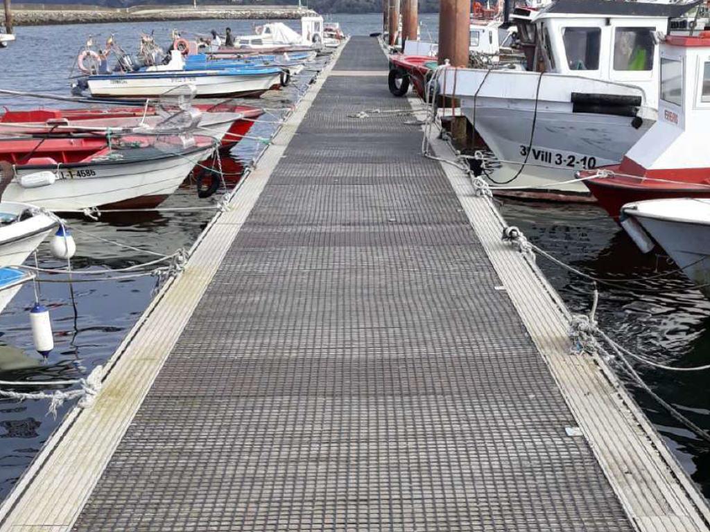 Las mallas antideslizantes para puertos ofrecen seguridad y protección antirresbalones