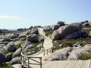 Pedras Negras recorre la costa y las playas de O Grove