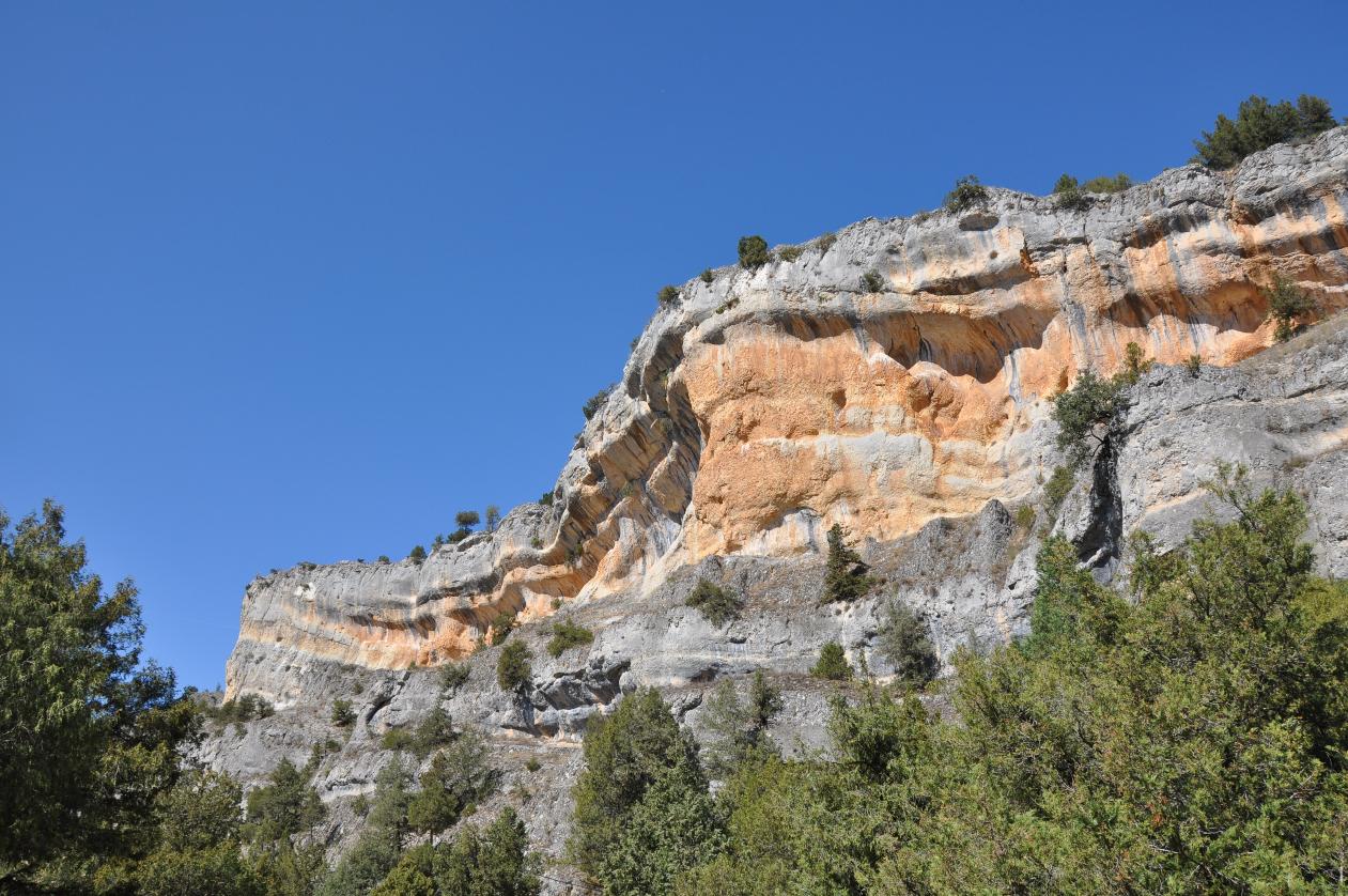 El desfiladero de La Yecla tiene una longitud de 2 kilómetros